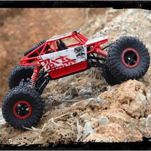 VOITURE ENFANT 1:18 RC Car 4WD 2.4GHz Rock Crawlers Rally voiture