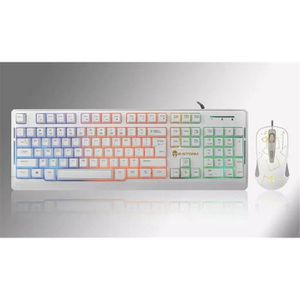 PACK CLAVIER - SOURIS Respiration LED Gaming Wired Clavier and Mouse Set