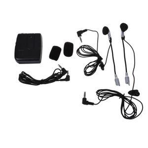 INTERCOM MOTO Moto Intercom Interphone Casque Intercom + ecouteu