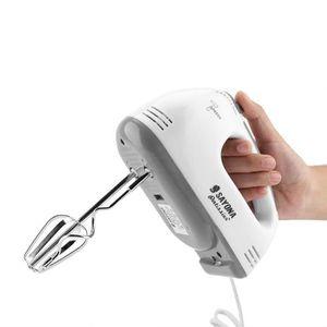 BATTEUR - FOUET Mélangeur électrique Portable 7 Vitesses Oeuf Méla