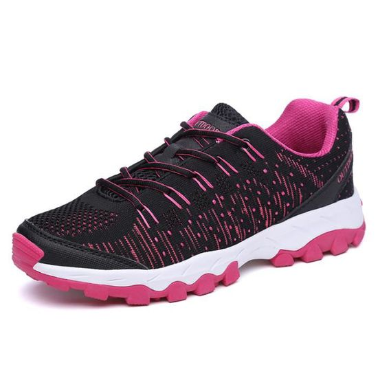 Sport Chaussures course femme mode Rose Rose - Achat / Vente basket