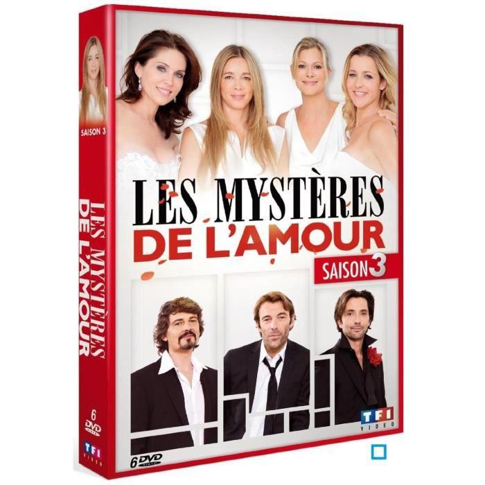 DVD FILM DVD Coffret les mystères de l'amour, saison 3