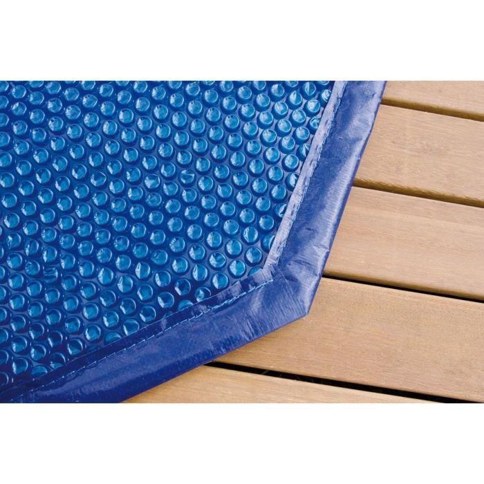 Bâche à bulles pour piscine bois OCEA 400x610
