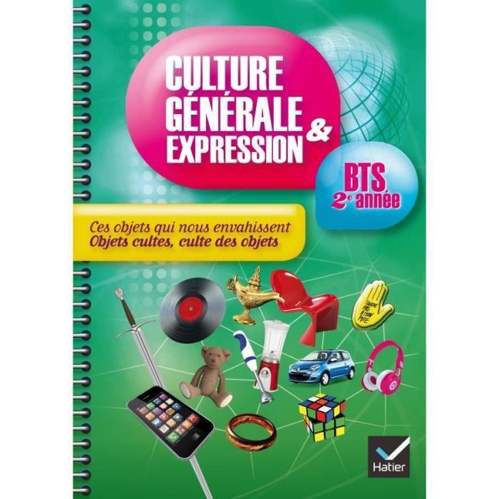 Culture générale et expression bts 1ère année hatier