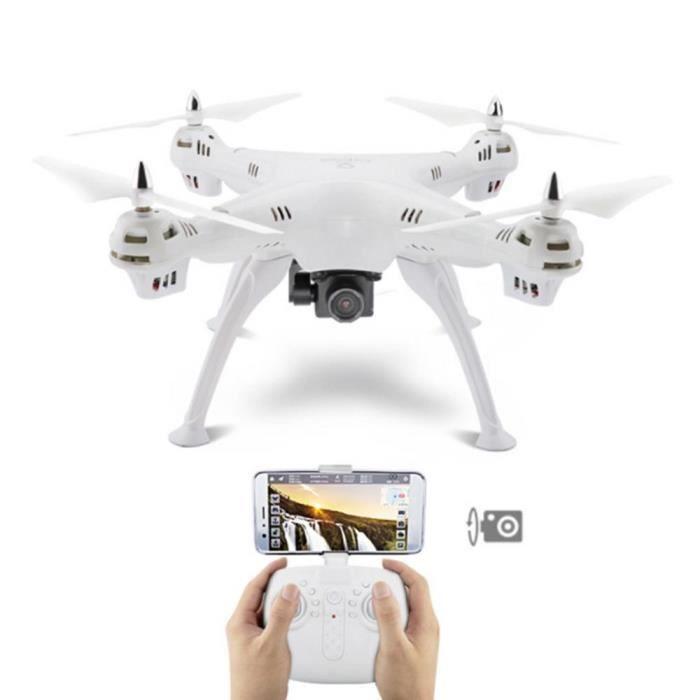 DRONE Drone télécommande GPS Positionnement HD Retour Pe
