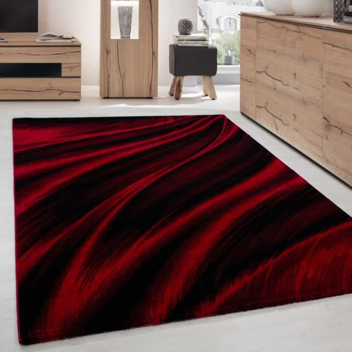 Tapis Moderne Rouge Achat Vente Pas Cher