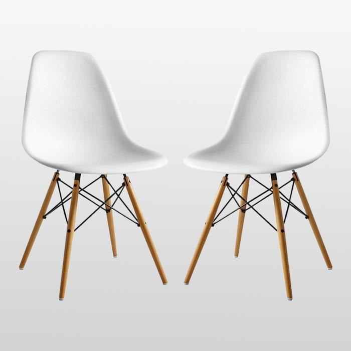 Chaise Eames Blanches