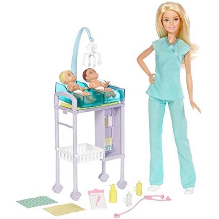 Poup 233 E Barbie Pediatre Nouveaut 233 Avec Accessoires