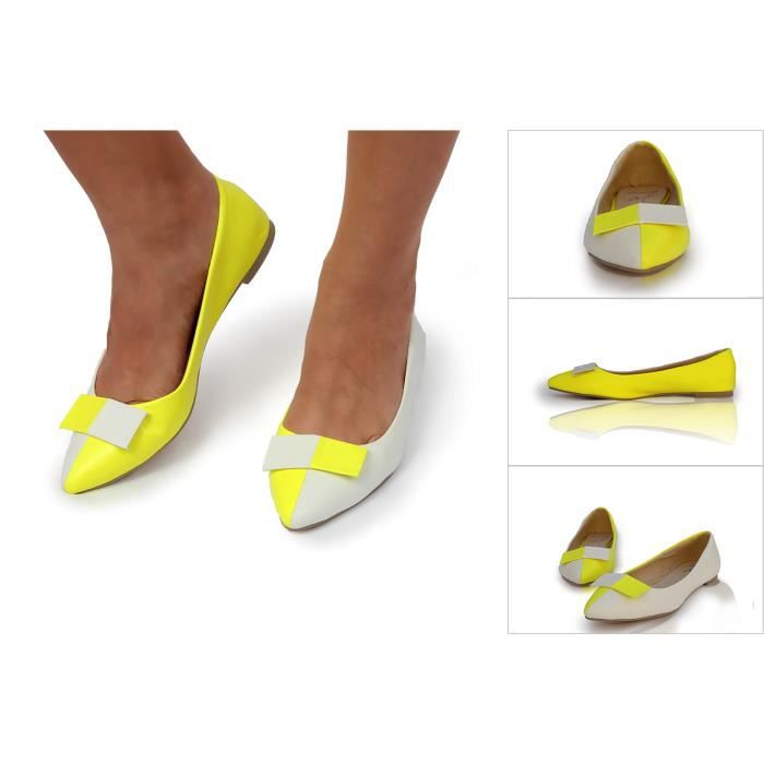 Ballerines pointues, chaussures femmes plates R...
