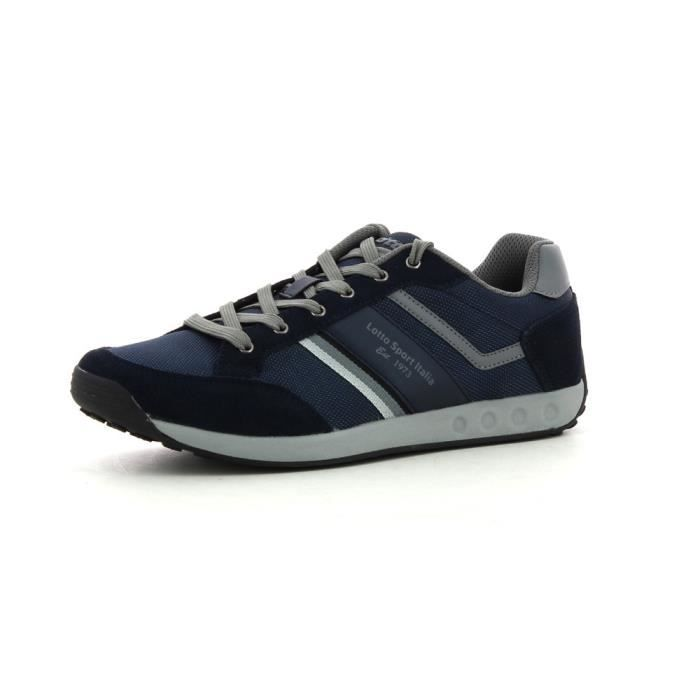 Lotto Kevin III NY Marine - Chaussures Baskets basses Homme