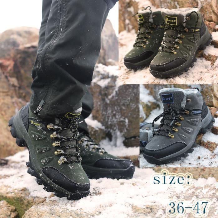 Bottes pour Femmearmée verte 5.5 Les amateurs de mode Grande Taille Chaussures en plein air Chaussures de randonnée pl_38206 BJDbOy