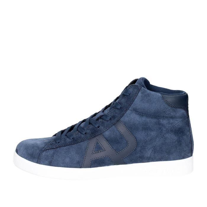 Armani Jeans Sneakers Homme Bleu, 45
