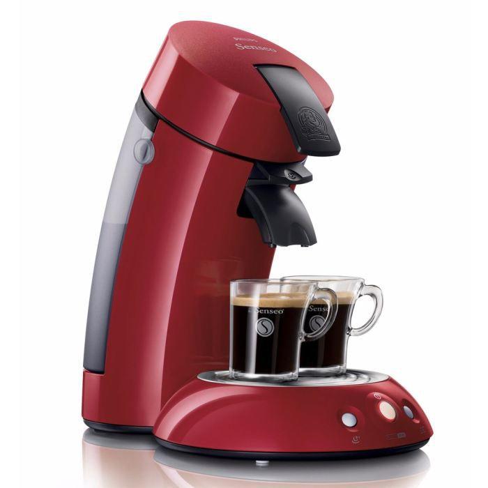 Philips senseo original hd7810 91 rouge achat vente machine caf cdiscount - Detartrage cafetiere au vinaigre blanc ...