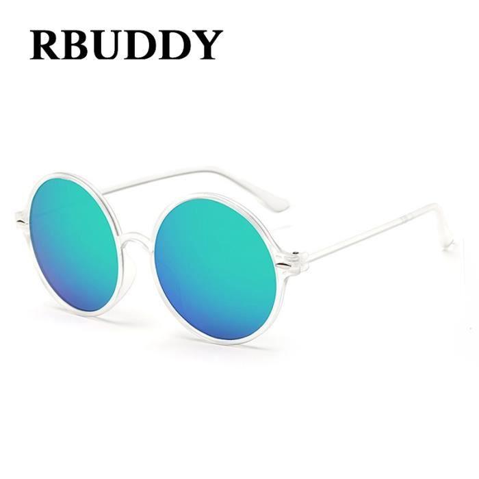 RBUDDY Oculos De Sol Feminina Lunettes de soleil pour femmes Marque Designer lunettes de soleil Clair Transparent Frame Femme Homme
