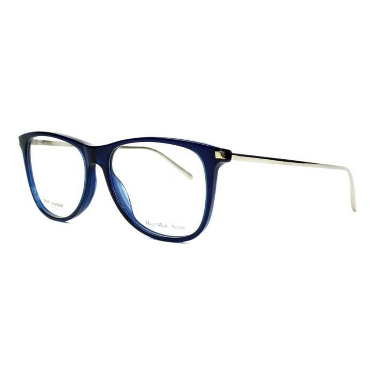Lunettes de vue Yves Saint Laurent SL79 -BJJ Bleu transparent ... 68d547f2522d