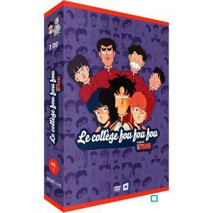 DVD DESSIN ANIMÉ DVD COLLEGE FOU FOU FOU