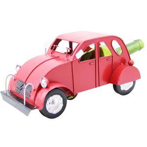 TIRE-BOUCHON Porte bouteille métal voiture 2cv rouge