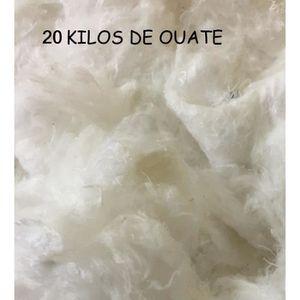 OUATE Ouate de Rembourrage 20 kg de Ouate Cellulose Fibr