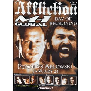 DVD FILM DVD AFFLICTION - DAY OF RECKONING