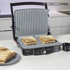 SOMMIER Grill 3 en 1 2000W - grill électrique, plancha et