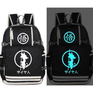 sac dos informatique dragon ball z cartable sac dos toile sac dos s - Cartable Dragon Ball Z