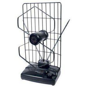 ANTENNE RATEAU Knig - ANT 102-KN - Antenne d'Intérieur pour FM/TV