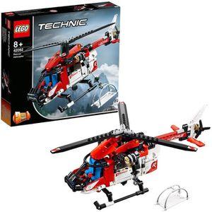 ASSEMBLAGE CONSTRUCTION LEGO® Technic 42092 L'hélicoptère de secours