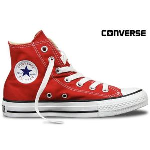BASKET Converse All-Star Red High - Rouge Montante