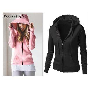 meilleur service 8712e 8b65f Sweat zippe femme c&a – Vestes élégantes populaires