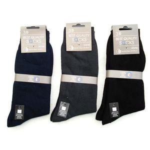 5a720443ac3 CHAUSSETTES - Chaussette homme 100%Coton – Lot de 12 paires (