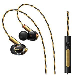 CASQUE - ÉCOUTEURS Onkyo E900M In-ear Headphone noir or écouteur