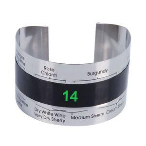 THERMOMÈTRE VIN Bracelet Thermomètre Capteur de température de vin