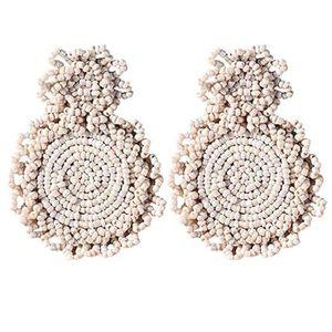 Boucle d'oreille SHLK Boucles d'oreilles en perles de bohème rondes