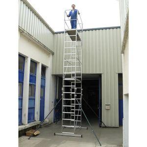 ECHAFAUDAGE ESCALUX Echafaudage mobile 7m en aluminium Nimbus