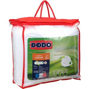 COUETTE DODO Couette Saniprotect - 140 x 200 cm - Blanc