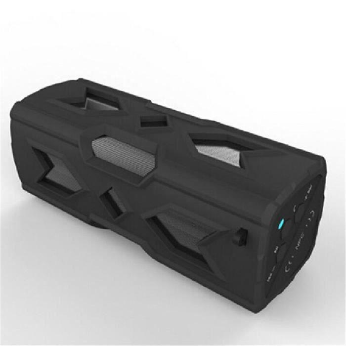 Enceinte Bluetooth Portable Puissant Sans Fil Haut Parleur Haute Qualite Noir