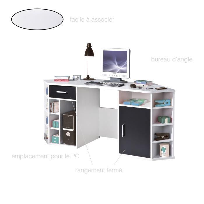 Bureau Informatique Meuble Informatique Bureau Pc Meuble Pc Meuble