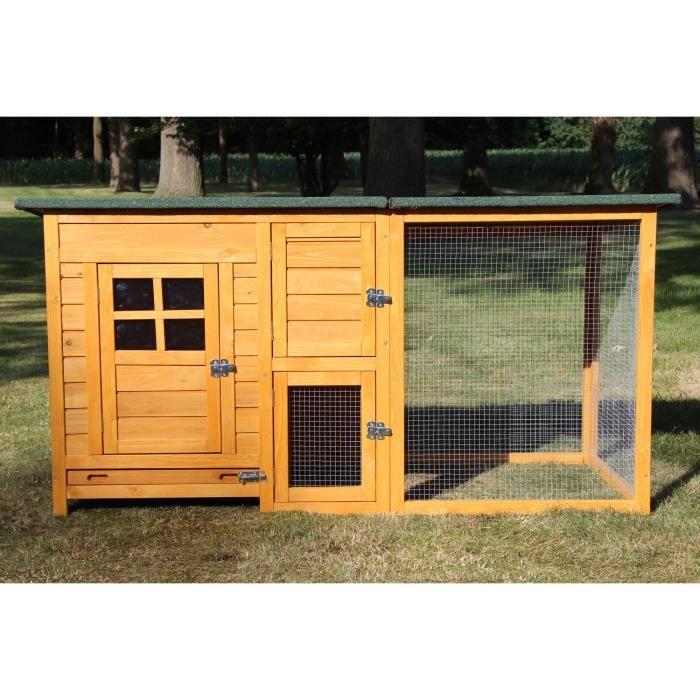 POULAILLER Poulailler en bois pour jardin extérieure poules c