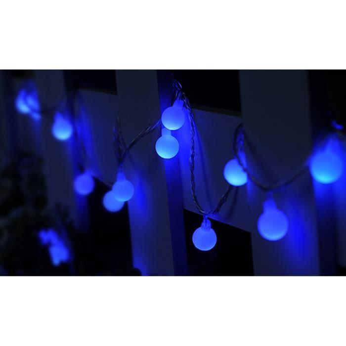 Colorée 50 Led Ampoule Lumière Lampe Décoration Bleu 50m Boule SGLUMpjqzV