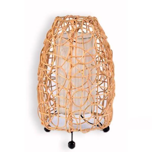 Achat En Lampe Cm Chevet Rotin 30 H Vente De 3qjAR5Sc4L