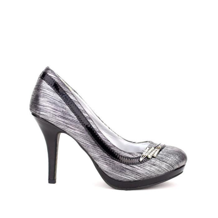 sélection premium 93052 ac90b Escarpin, Escarpins Argenté Chaussures Femme, Cendriyon ...