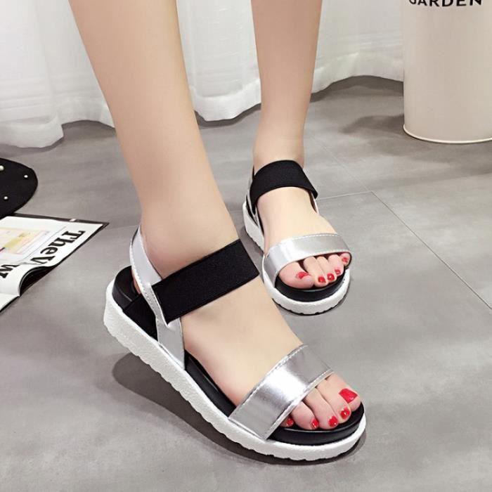 SHELOVEIT® Des sandales Femmes Plate-forme Gladiateur Haute Talons Boucle Sangle K9whrRRPO