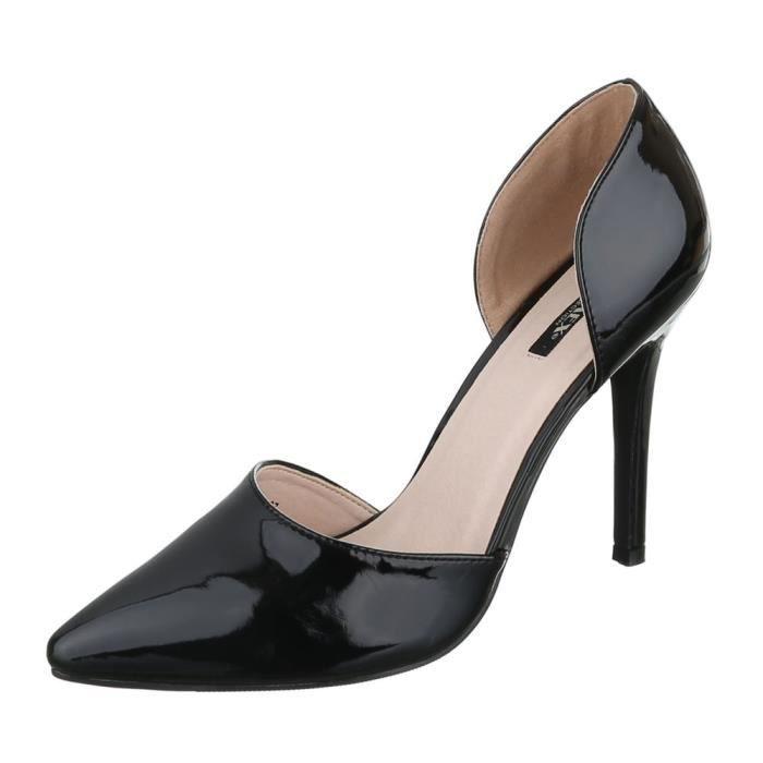 Femme chaussures escarpin High Heels noir 41 AcQtkm4eyn