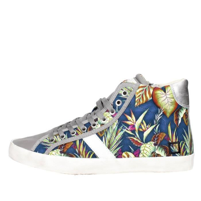 D.a.t.e. Sneakers Homme à fleurs, 42