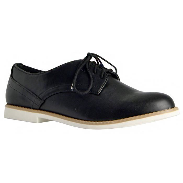 Cooper Lace Up Oxfords Flats Sneakers E39R4 Taille-38