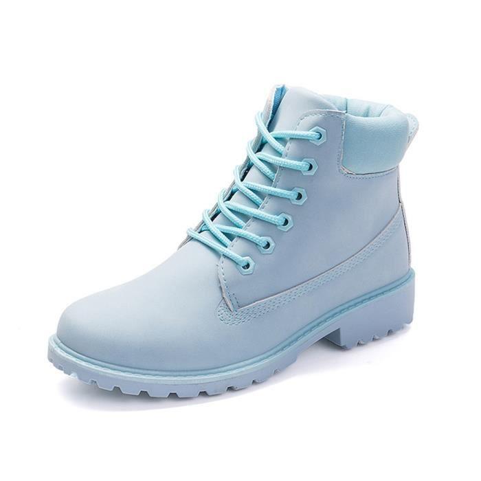 Bottine de neige Femmes Mode Beau Meilleure Qualité Chaussures Pour Hiver PerméAble à L'Air Plus Taille 36-40