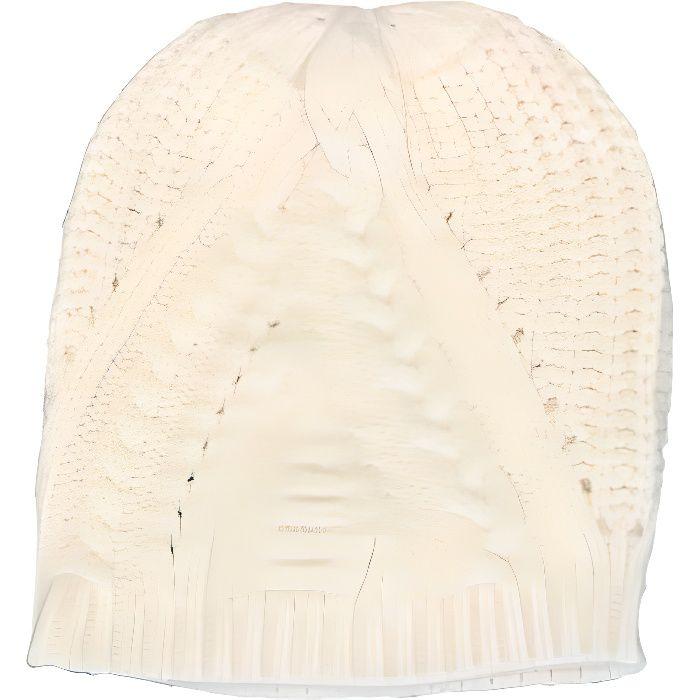 Bonnet Ralph Lauren crème pour femme - Couleur  Blanc - Taille  TU ... 95dccceab27