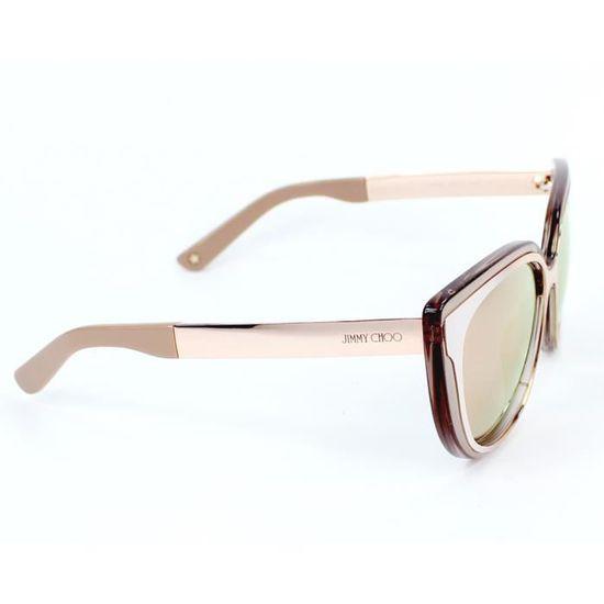 Lunettes de soleil Jimmy Choo CINDY-S -1RX0J Or - Beige - Achat   Vente  lunettes de soleil Femme Adulte Doré - Soldes  dès le 9 janvier ! Cdiscount fa91e0a4d350
