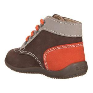 Chaussures bébé Kickers - Achat   Vente Chaussures bébé Kickers pas ... 3eedcc0ddc9a
