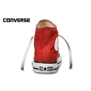 High Montante Rouge Red Converse All Star tw6qcvOX